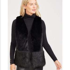 J.McLaughlin Faux Fur Vest